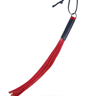 Leather Whip Red från ZADO.