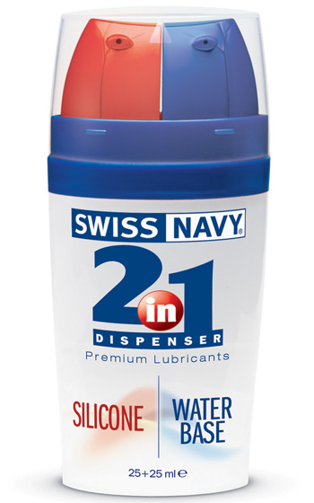 2 in 1 Silicone & Water 25 Plus 25 ml
