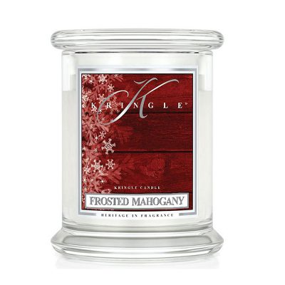 Kringle Candle - Frosted Mahogany M Jar
