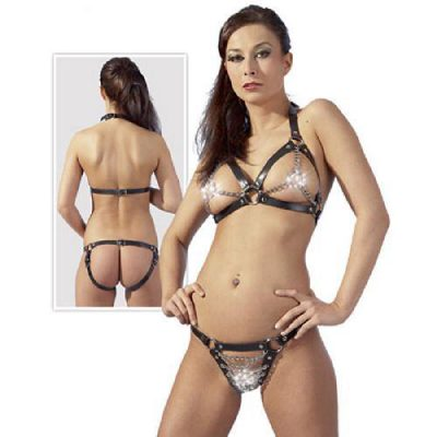 Leather Bikini S-L
