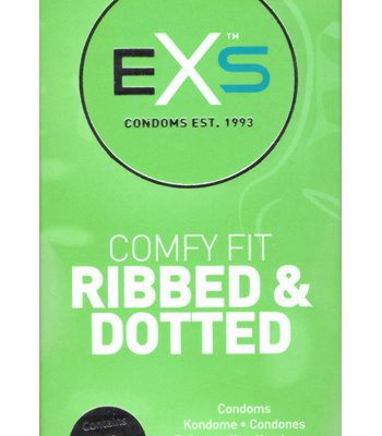 EXS Ribbed & Dotted 12-pack - Förpackning