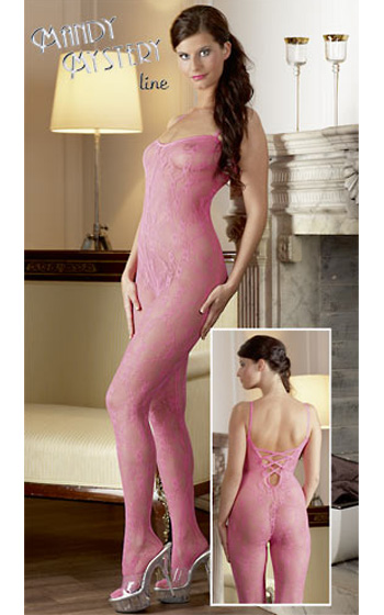 Mandy Mystery Catsuit - Rosa
