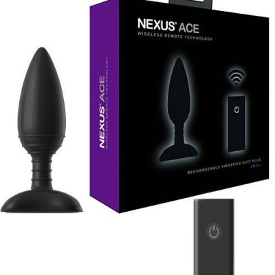 NEXUS - ACE REMOTE CONTROL VIBRATING BUTT PLUG Small
