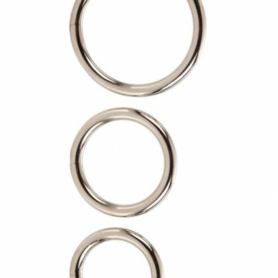 California Exotic - Silver Ring Set (3-pack)