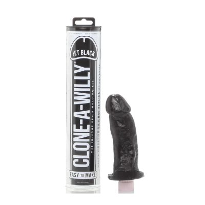 Clone-A-Willy Kit Jet Black