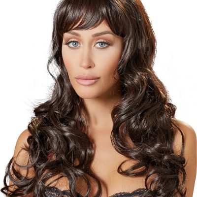 Cottelli Collection: Long Dark Brown Wig
