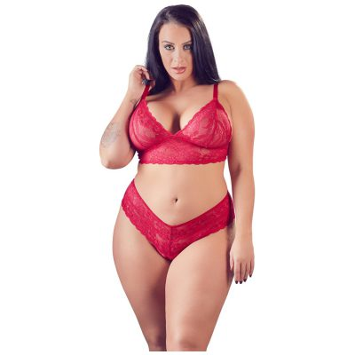 Diva Lace Set Red