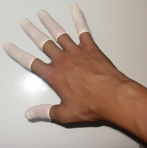 Finger condoms 10p
