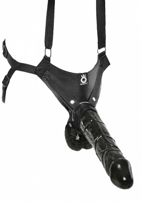 King Cock Hollow Strap On XXL