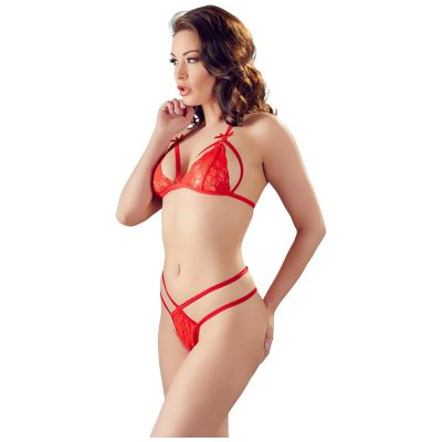 Lace Set Red