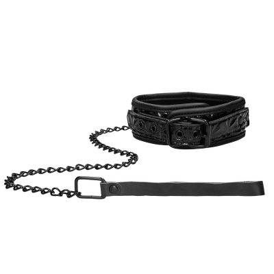Luxury Collar with Leash