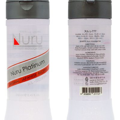 Nuru Massage Platinum - 250 ml