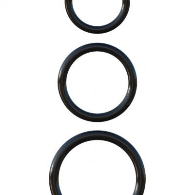 Pipedream C-Ringz: Silicone 3-Ring Stamina Set