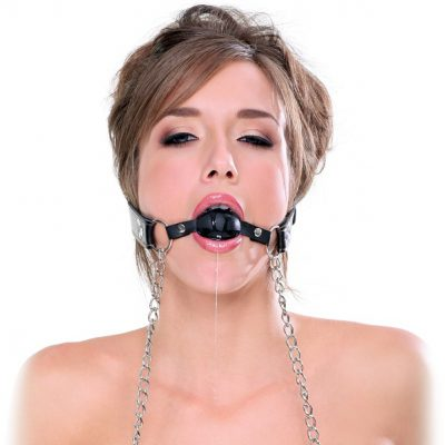 Pipedream Fetish Fantasy: Deluxe Ball Gag and Nipple Clamps