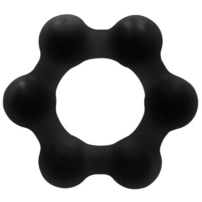 SONO NO. 82 Weighted Cock Ring Medium Black