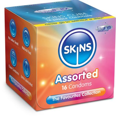Skins Cube Kondom-Mix (16-pack)