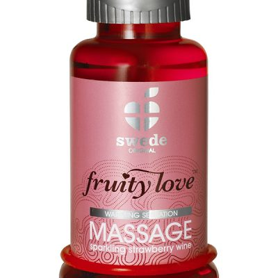 Swede Fruity Love: Värmande Massageolja Jordgubb