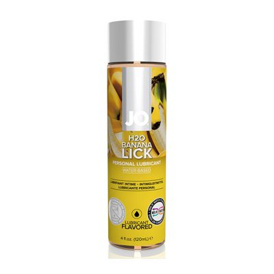 System JO H2O Lubricant Banana Lick