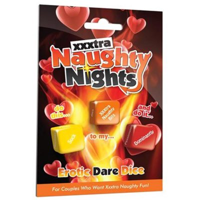 Xxxtra Naughty Nights - Erotic Dare Dice