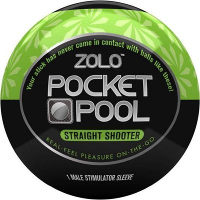 Zolo - Pocket Pool Straight Shooter Black/Green