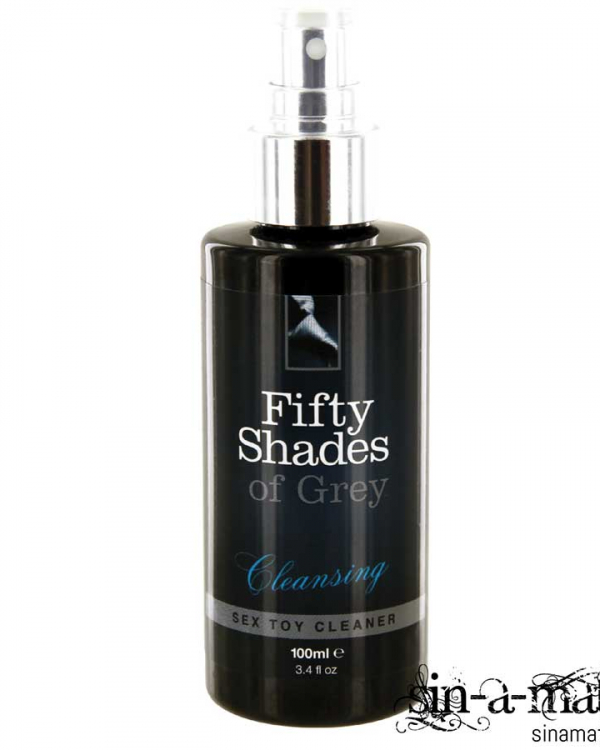 50 Shades of Grey - Cleansing sex toy cleaner.