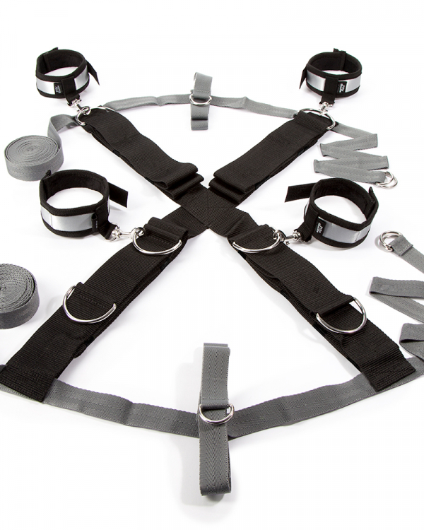 Fifty Shades Of Grey Over The Bed Cross Set